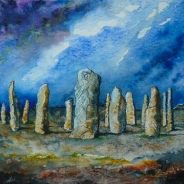 Stone circle (cropped) (c) 2015 Duncan Friend